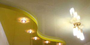 Как появились натяжные потолки